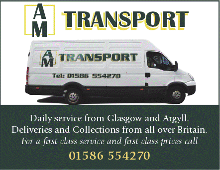 AM Transport - Delivery Advert